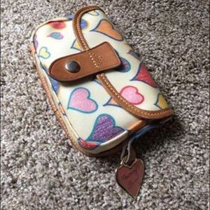 Vintage Dooney and Bourke hearts collection Wallet